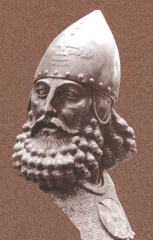 assyrian staues in museums sargon ii